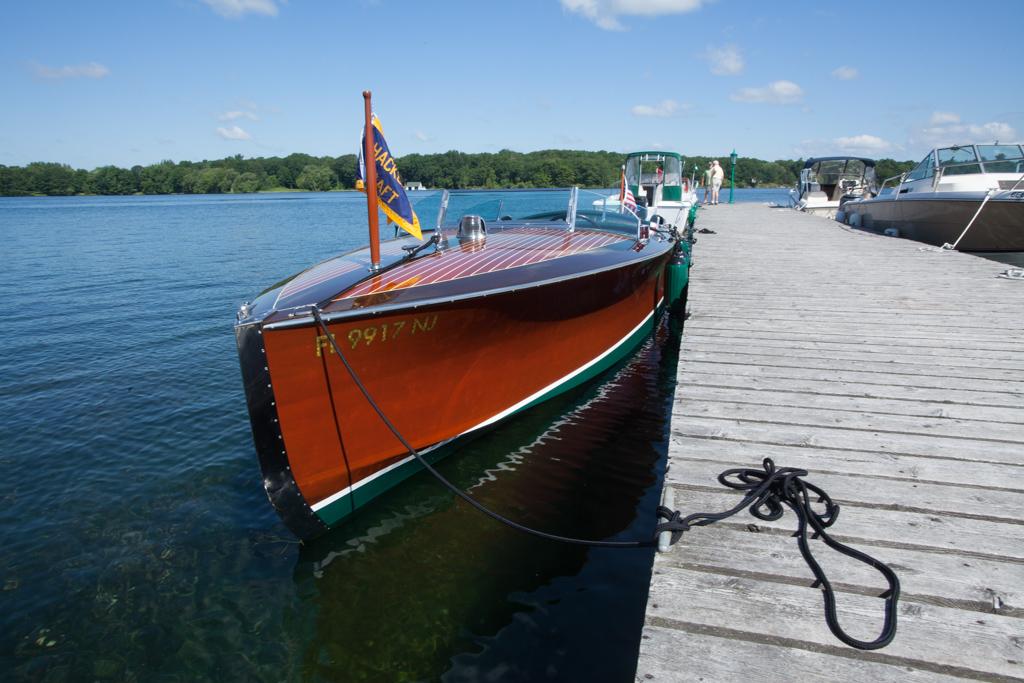 Marlene Wood Hacker Craft Boat 02